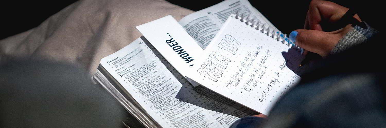 church service note writing