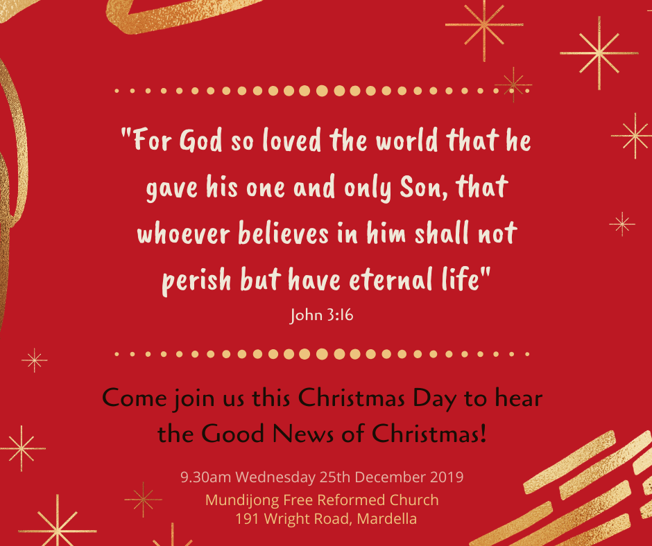 Reformed Message of Good News